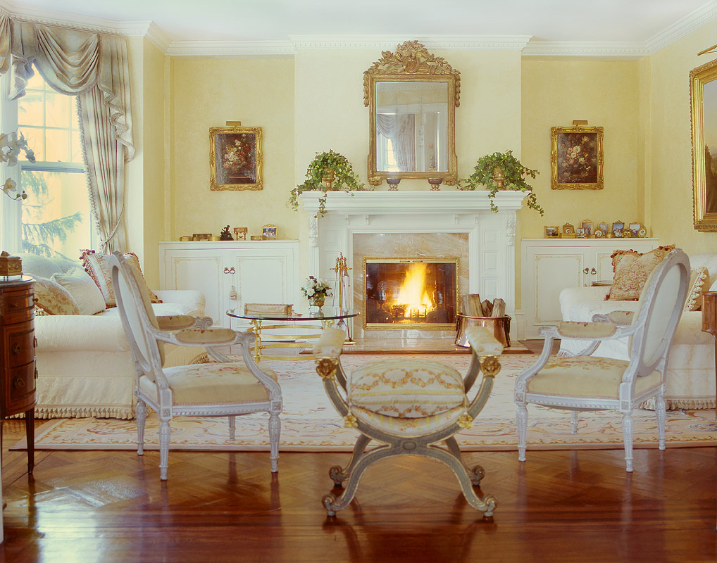 Gregory Allan Cramer   Interior Design And Decoration   New York   French  Classical