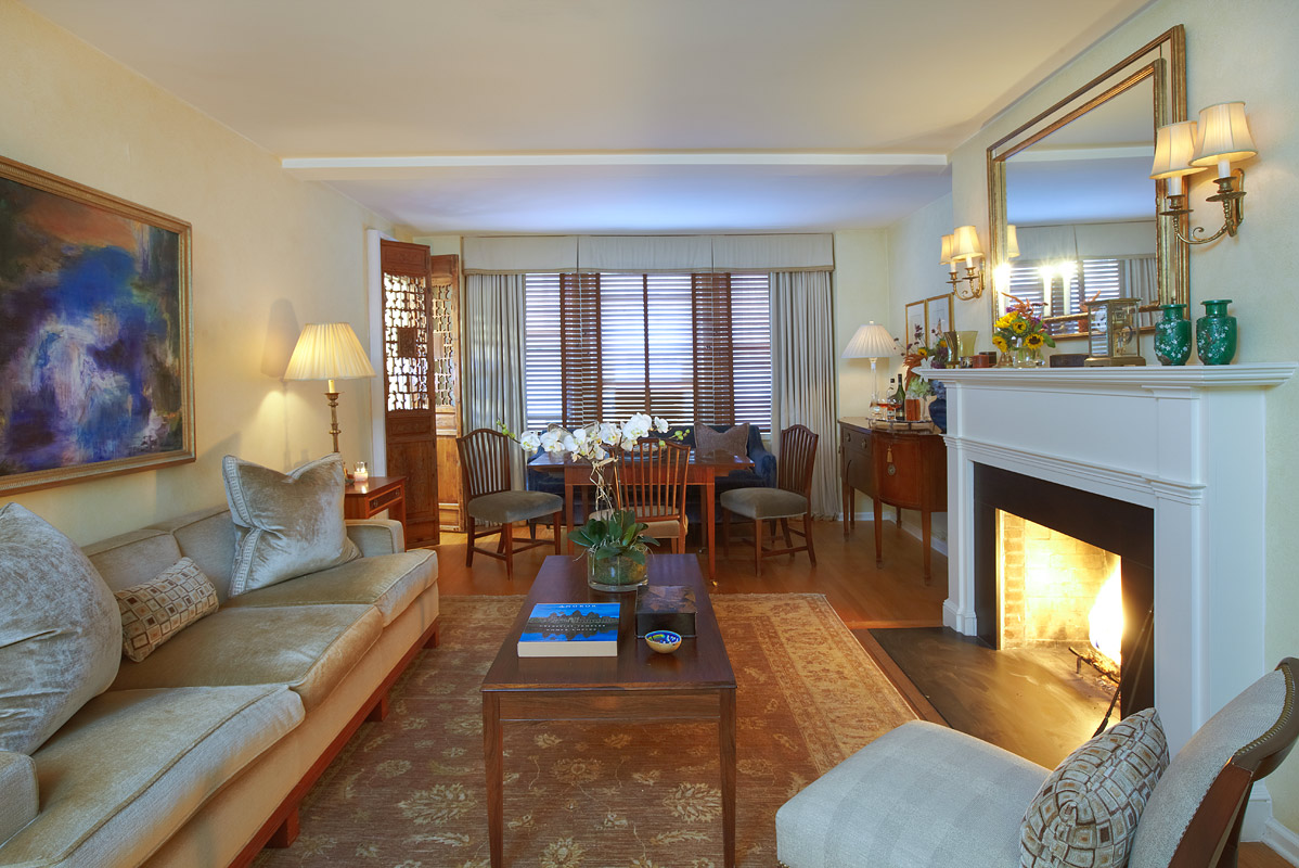Gregory allan cramer interior design and decoration for Manhattan west village apartments